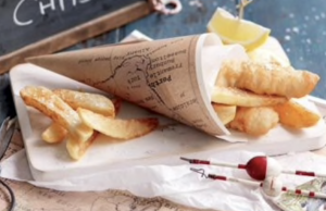 Chips in a cone