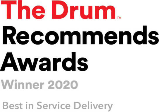 The Drum Recommends Awards 2020  – Best in Service Delivery